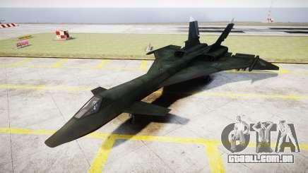 O MiG-31 de Raposa de Fogo MEC PJ para GTA 4