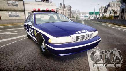 Chevrolet Caprice 1994 LCPD Auxiliary [ELS] para GTA 4