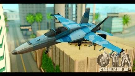 FA-18 Super Hornet Aggressor Squadron para GTA San Andreas