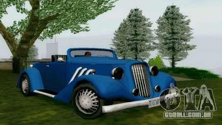 Hustler Cabriolet para GTA San Andreas