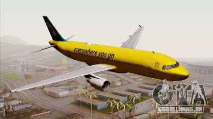 Airbus A320-200 MTN para GTA San Andreas