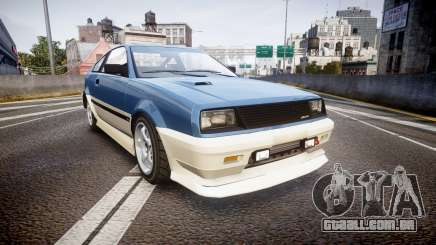 Dinka Blista Compact R para GTA 4