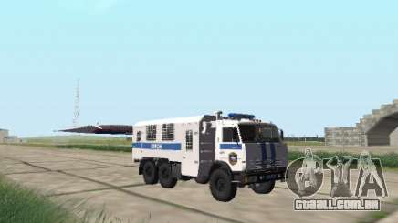 KamAZ-43114 um OMON para GTA San Andreas