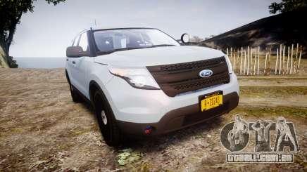 Ford Explorer Police Interceptor 2013 [ELS] para GTA 4