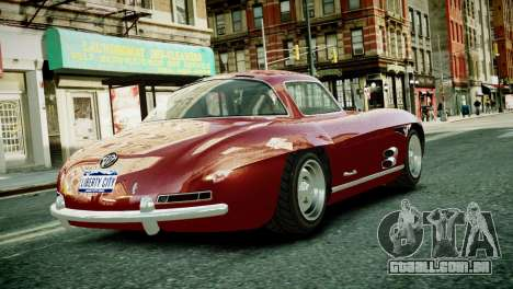 Benefactor Stirling GT from GTA 5 para GTA 4 traseira esquerda vista