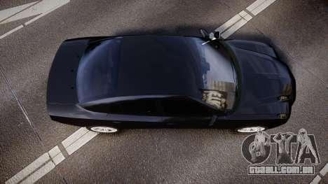 Dodge Charger SWAT Tactical Unit [ELS] rbl para GTA 4 vista direita