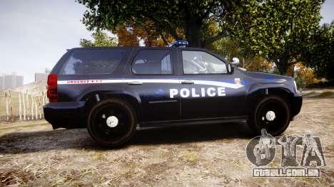 Chevrolet Tahoe SPVQ [ELS] para GTA 4 esquerda vista