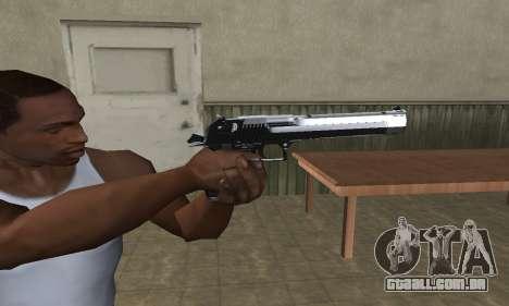 Refle Deagle para GTA San Andreas terceira tela