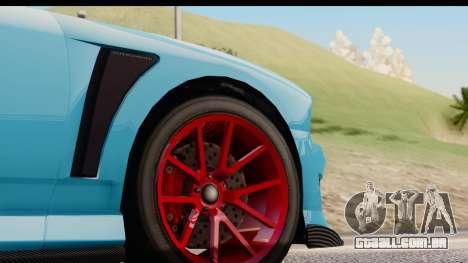 GTA 5 Bravado Buffalo S Sprunk IVF para GTA San Andreas vista interior