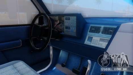 GMC Top Kick 88-95 para GTA San Andreas vista direita