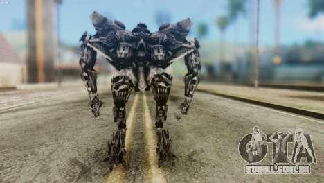 Starscream Skin from Transformers v2 para GTA San Andreas terceira tela
