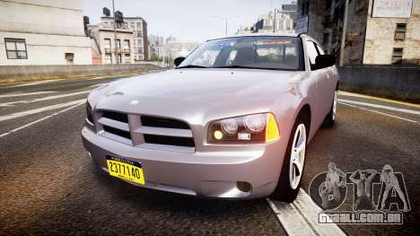 Dodge Charger Police Unmarked [ELS] para GTA 4