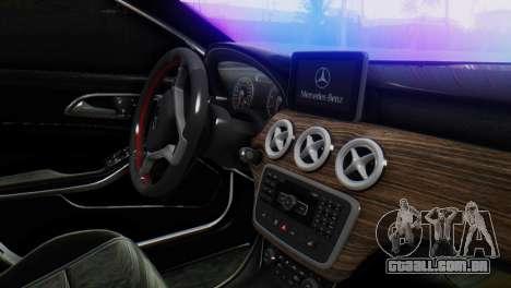 Mercedes-Benz A45 AMG para GTA San Andreas vista direita