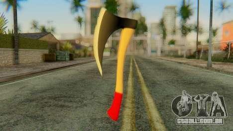 Machado para GTA San Andreas segunda tela