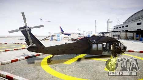 Sikorsky MH-60L Black Hawk [EPM] para GTA 4 esquerda vista