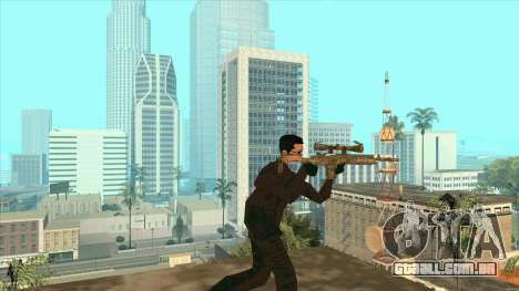 Vusi Mu para GTA San Andreas por diante tela