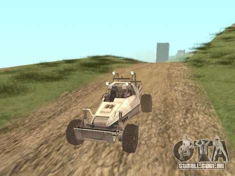 Buggy from Just Cause para GTA San Andreas esquerda vista
