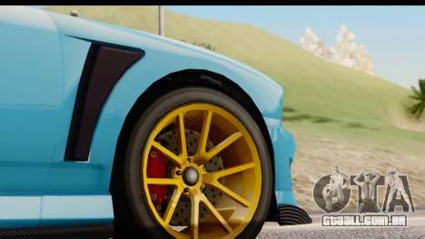 GTA 5 Bravado Buffalo S Sprunk IVF para vista lateral GTA San Andreas