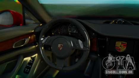 Porsche Panamera Turbo 2010 para GTA San Andreas vista direita