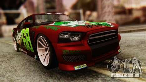 GTA 5 Bravado Buffalo Sprunk HQLM para GTA San Andreas