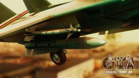 F-14D VF-213 Black Lions para GTA San Andreas vista direita