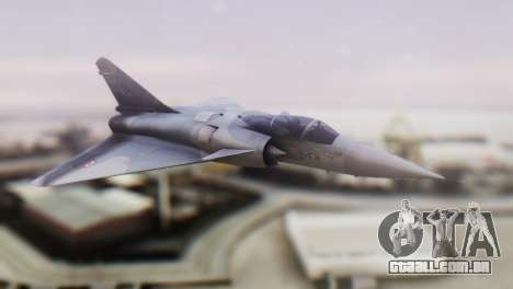 Dassault Mirage 4000 French Air Force para GTA San Andreas