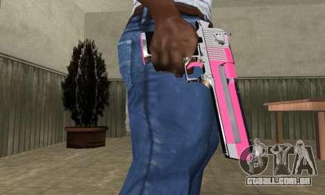 Pink Deagle para GTA San Andreas