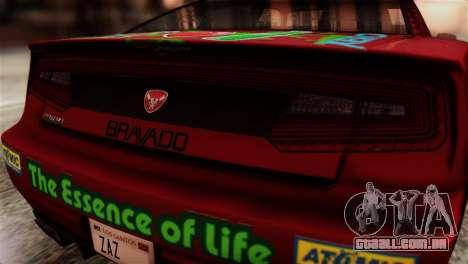 GTA 5 Bravado Buffalo Sprunk HQLM para GTA San Andreas vista traseira