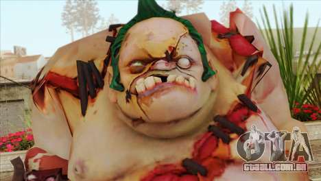 Pudge from DotA 2 para GTA San Andreas terceira tela