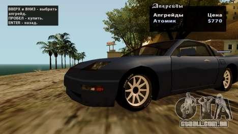 Rodas de GTA 5 v2 para GTA San Andreas décimo tela