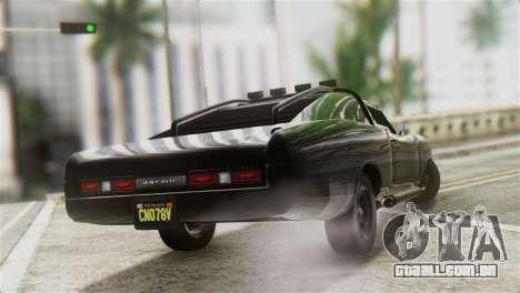 GTA 5 Imponte Dukes ODeath IVF para GTA San Andreas esquerda vista