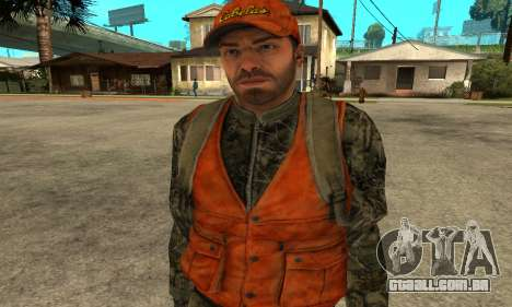 Job Man para GTA San Andreas
