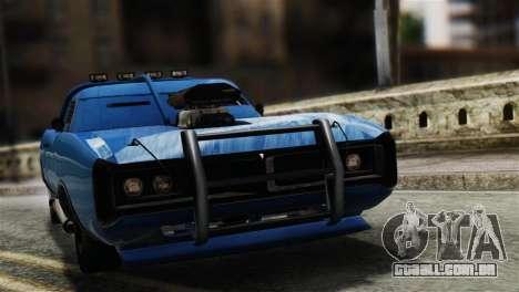 GTA 5 Imponte Dukes ODeath para GTA San Andreas traseira esquerda vista