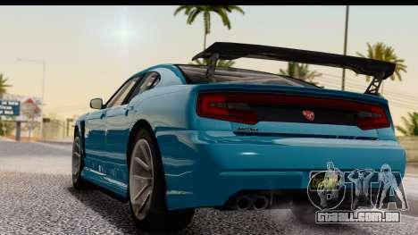 GTA 5 Bravado Buffalo S Sprunk IVF para GTA San Andreas esquerda vista