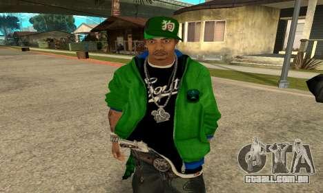 Groove St. Nigga Skin Second para GTA San Andreas