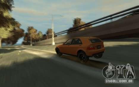 Karin Sultan Hatchback v2 para GTA 4 vista direita