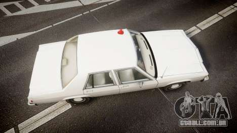 Ford LTD Crown Victoria 1987 Detective [ELS] para GTA 4 vista direita