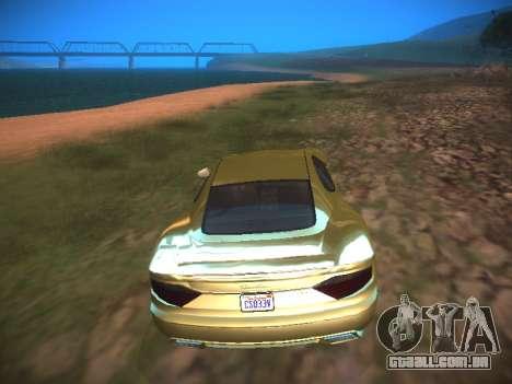 ENB Dark Orbit para GTA San Andreas quinto tela