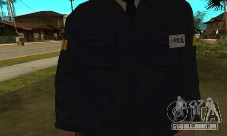 FBI HD para GTA San Andreas segunda tela