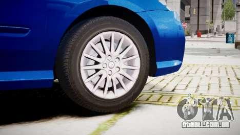 Renault Laguna III.1 Estate GT para GTA 4 traseira esquerda vista