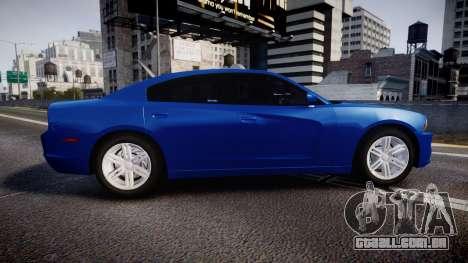 Dodge Charger SWAT Tactical Unit [ELS] bl para GTA 4 esquerda vista