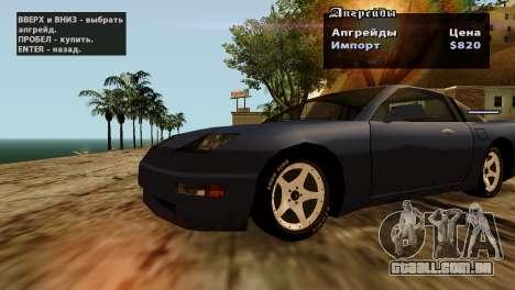 Rodas de GTA 5 v2 para GTA San Andreas nono tela
