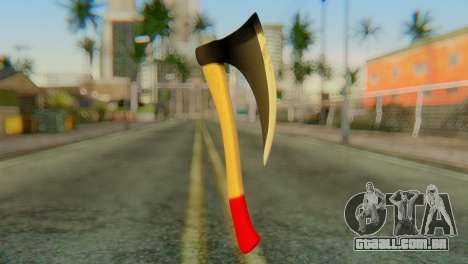Machado para GTA San Andreas