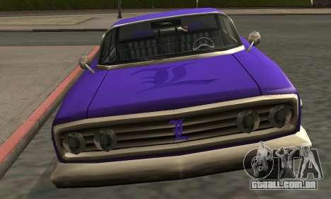 Luni Voodoo Remastered para GTA San Andreas interior