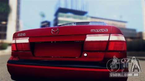 Mazda 626 para GTA San Andreas vista direita