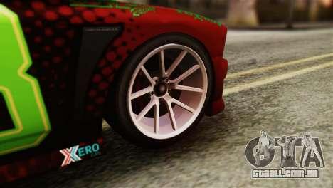 GTA 5 Bravado Buffalo Sprunk HQLM para GTA San Andreas traseira esquerda vista