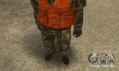 Job Man para GTA San Andreas segunda tela