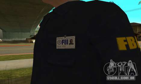 FBI HD para GTA San Andreas terceira tela