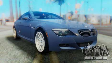 BMW M6 para GTA San Andreas