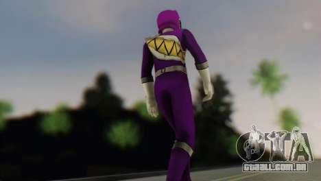 Power Rangers Skin 6 para GTA San Andreas segunda tela